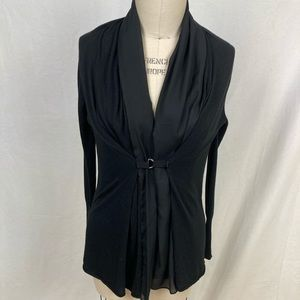 Zaraknit open front drape silky and soft cardigan